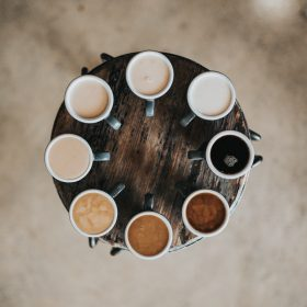 Different cups of tea